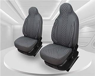 Maß Sitzbezüge kompatibel mit Fiat Ducato Typ 250 BJ ab 2006 Fahrer & Beifahrer FB:PL409 (grau)