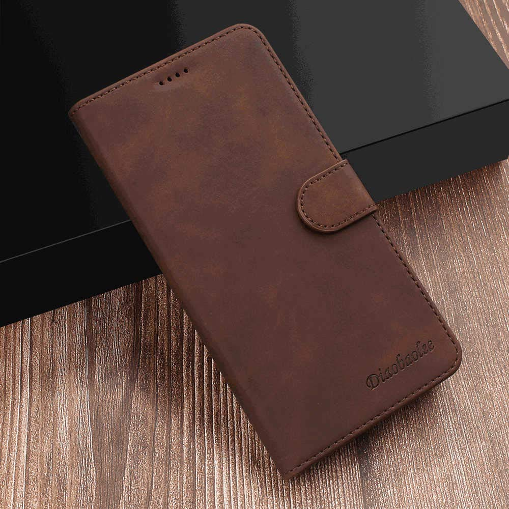 Elegant red Wallet Case for Samsung Galaxy S9 PU Leather Flip Cover Compatible with Samsung Galaxy S9