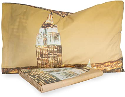 Bassetti Parure Copripiumino New York Dimensioni Varie R682 Singolo Amazon It Casa E Cucina