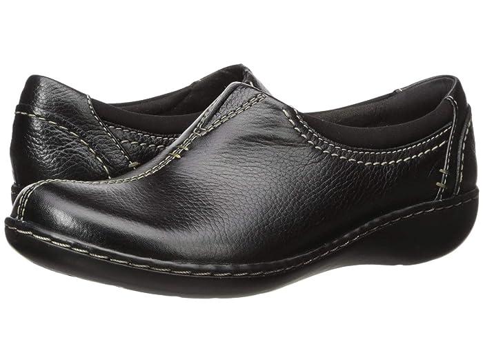 Clarks  Ashland Joy (Black Leather) Womens  Shoes