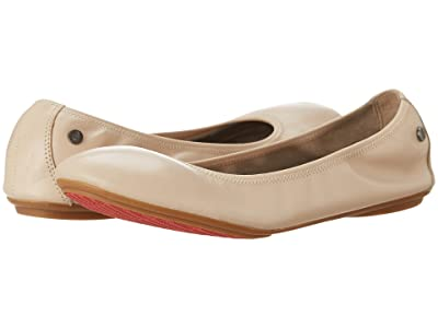 Hush Puppies Chaste Ballet (Nude Leather) Women