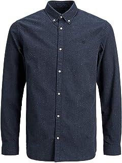 Jack & Jones Jprblalogo Autumn Shirt L/S STS Camisa para Hombre