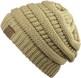 649aae89ff16c Amazon.com  Golds - Skullies   Beanies   Hats   Caps  Clothing ...