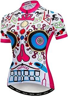 Women Cycling Jersey Short Sleeve Breathable Biking Shirt
