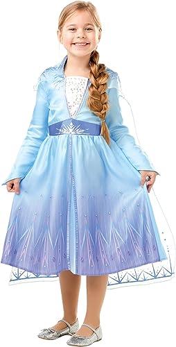 Rubie's - Déguisement Officiel Elsa La Reine Des Neiges 2 - Taille 3-4 ans - I-300284S