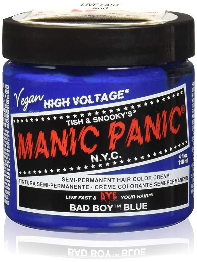 矛盾汚すにマニックパニック カラークリーム バットボーイブルー