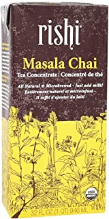Rishi Organic Concentrate Masala Chai Tea, 32 Ounce -- 12 per case.