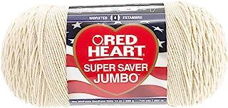 Red Heart Super Saver Jumbo Yarn, Buff