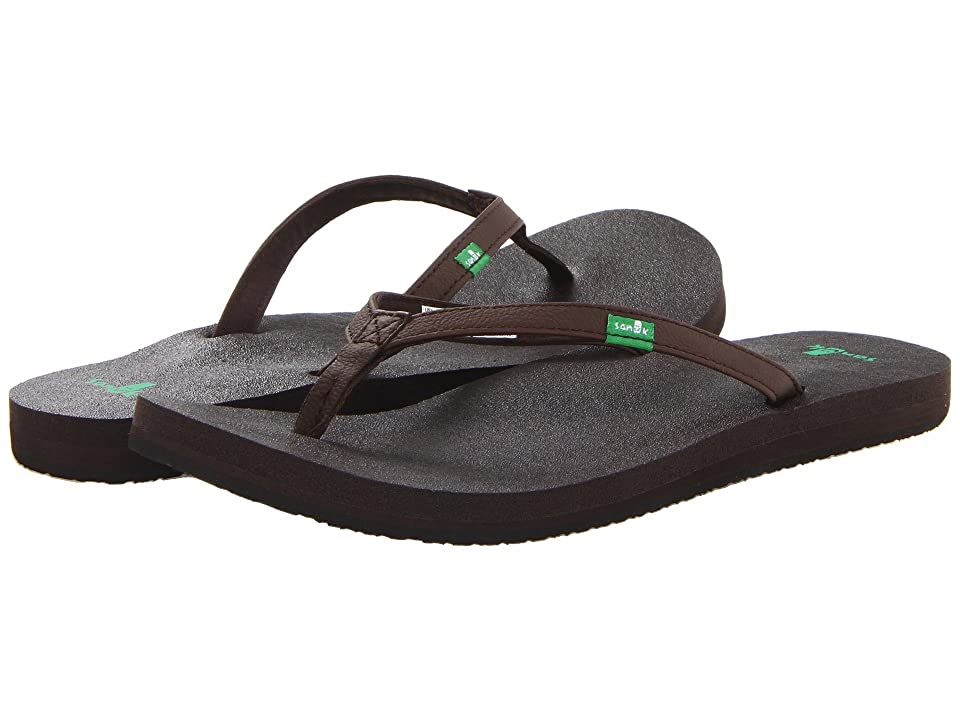 Sanuk Yoga Joy (Brown) Women
