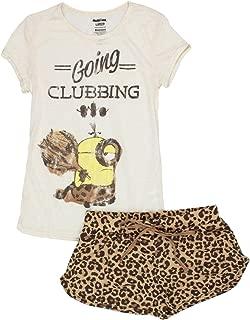 Despicable Me Minions Juniors Shorts Pajamas Set (Teen/Adult)