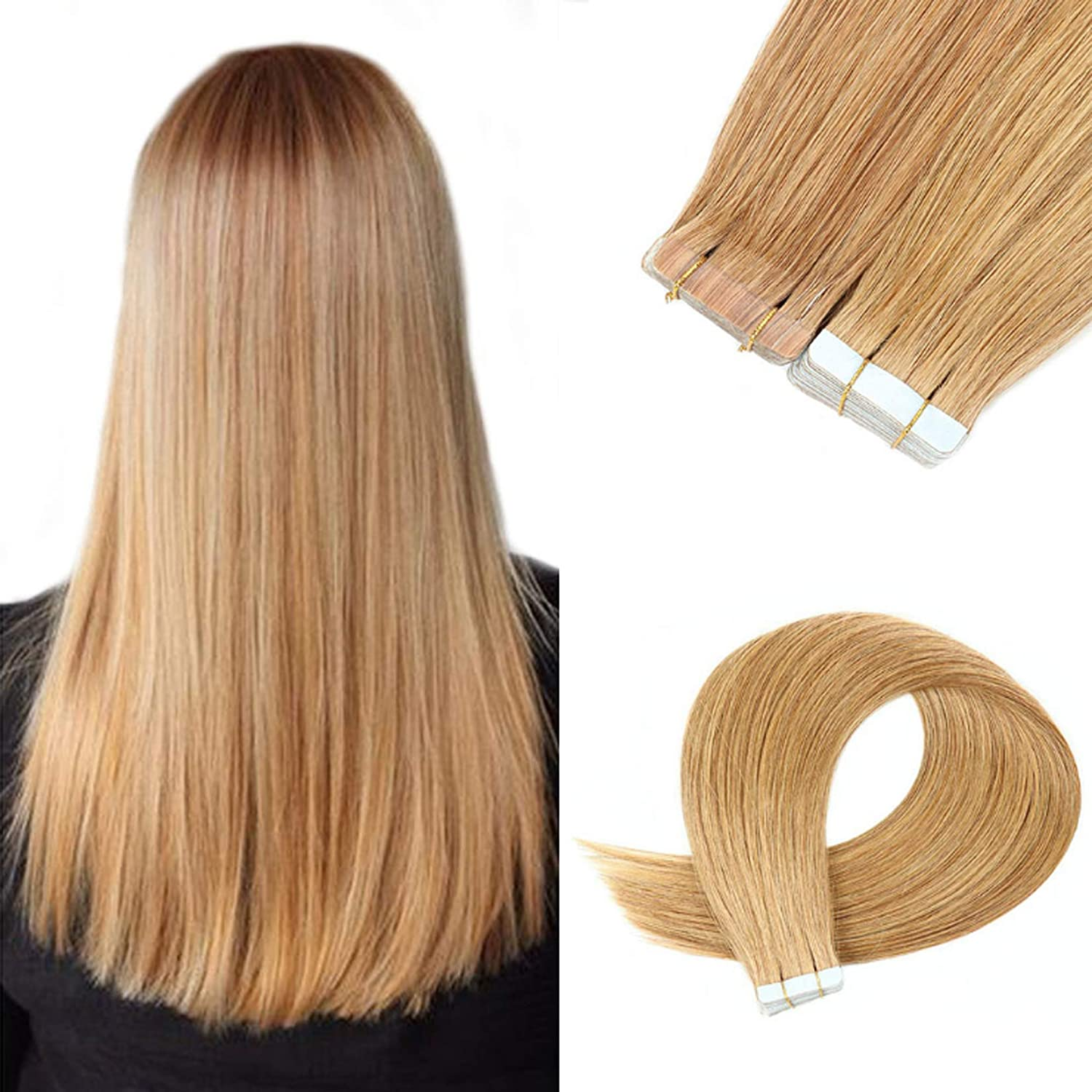 Tape Dallas Mall in Hair Extensions Human Extension Hai Remy Arlington Mall 16-24 Inch