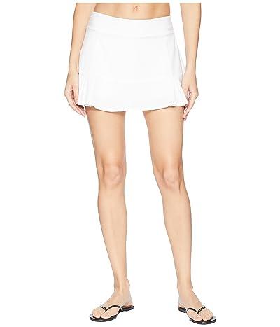tasc Performance Rhythm II Skirt (White) Women