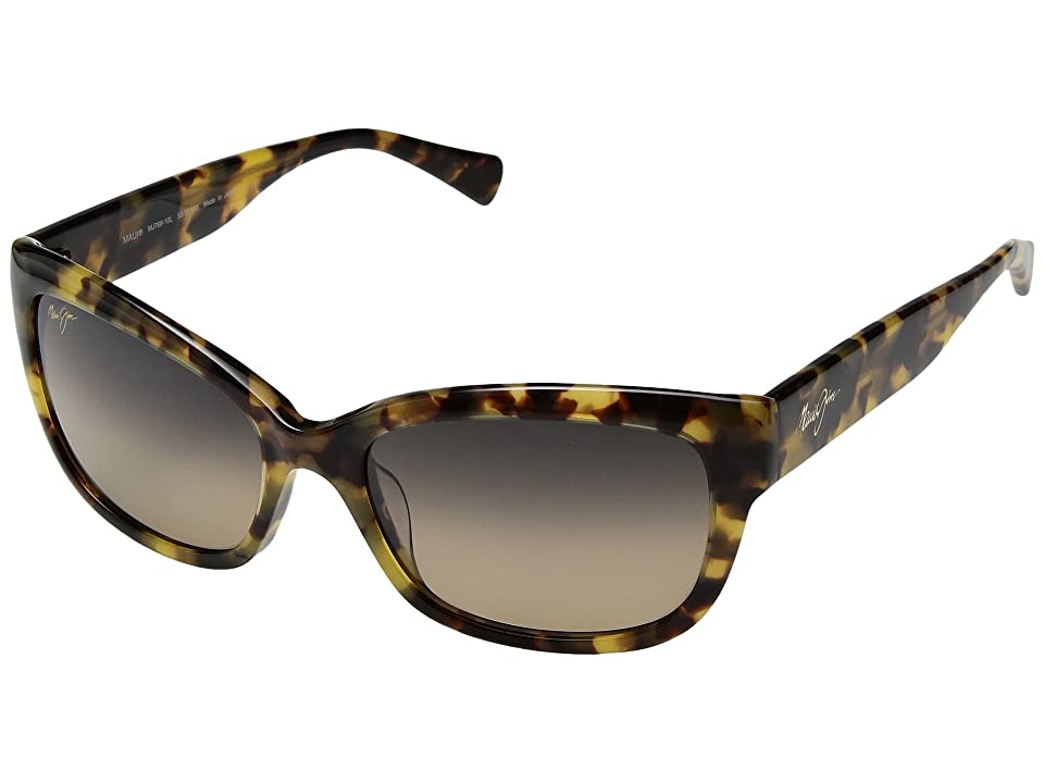Maui Jim Plumeria (Tokyo Tortoise/HCL Bronze) Athletic Performance Sport Sunglasses