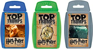 Harry Potter 6-8 Top Trumps Card Game Bundle