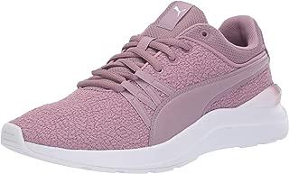 PUMA Women's Adela Sneaker, Elderberry White