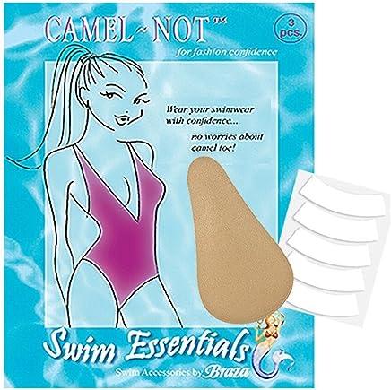 Braza Camel-Not Camel Toe Cover Foam Inserts - One Size - Beige Swim Essentials