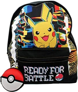 Pokemon Pikachu Listo para la Batalla Mochila