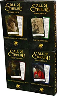 Call of Cthulhu: 7th Edition - Keeper Decks