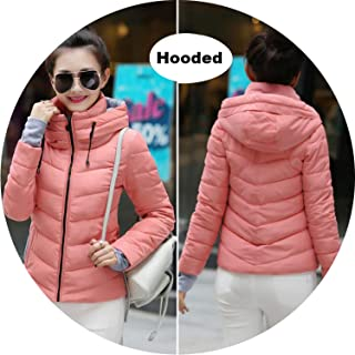 Be fearless 2019 Winter Jacket Women Plus Size Womens Parkas Thicken Outerwear Solid Hooded Coats