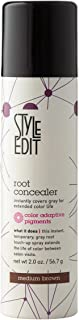 Medium Brown Root Concealer - Root Touch Up Spray For Medium Brown Hair Color - Temporary Hair Color Spray Instantly Cover...
