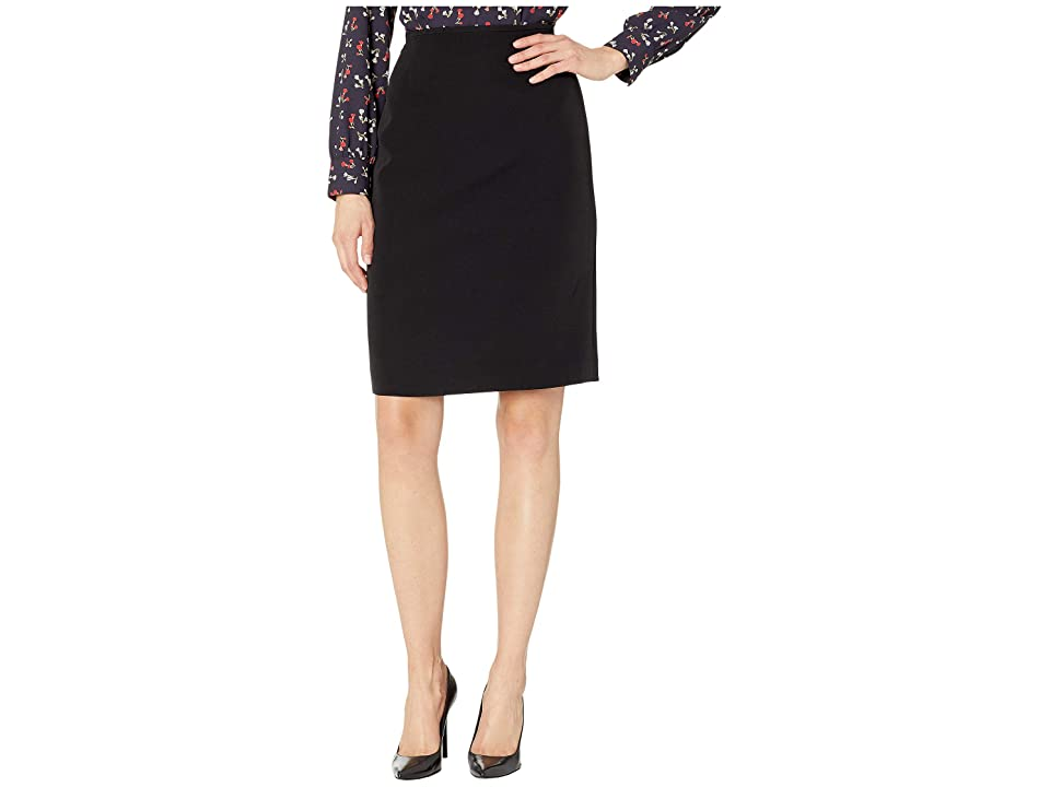 Tahari by ASL Pencil Skirt (Black) Women