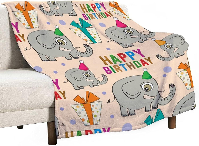 New product sordiw Lovely Elephant Popular brand Blanket Adult Animal C