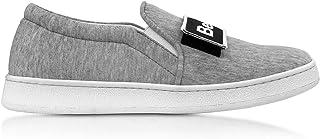 precio razonable Joshua Sanders Sanders Sanders Mujer 10259CARA gris Tela Zapatillas Slip-On  envío rápido en todo el mundo