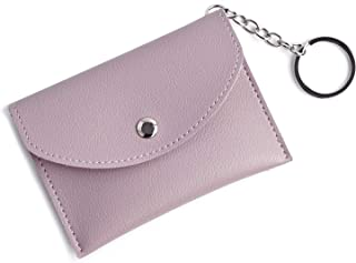 Mini Coin Purse KeyChain Wallet Credit Card Holder Zipper Card Case Coin Change Purse wallet With Key Ring