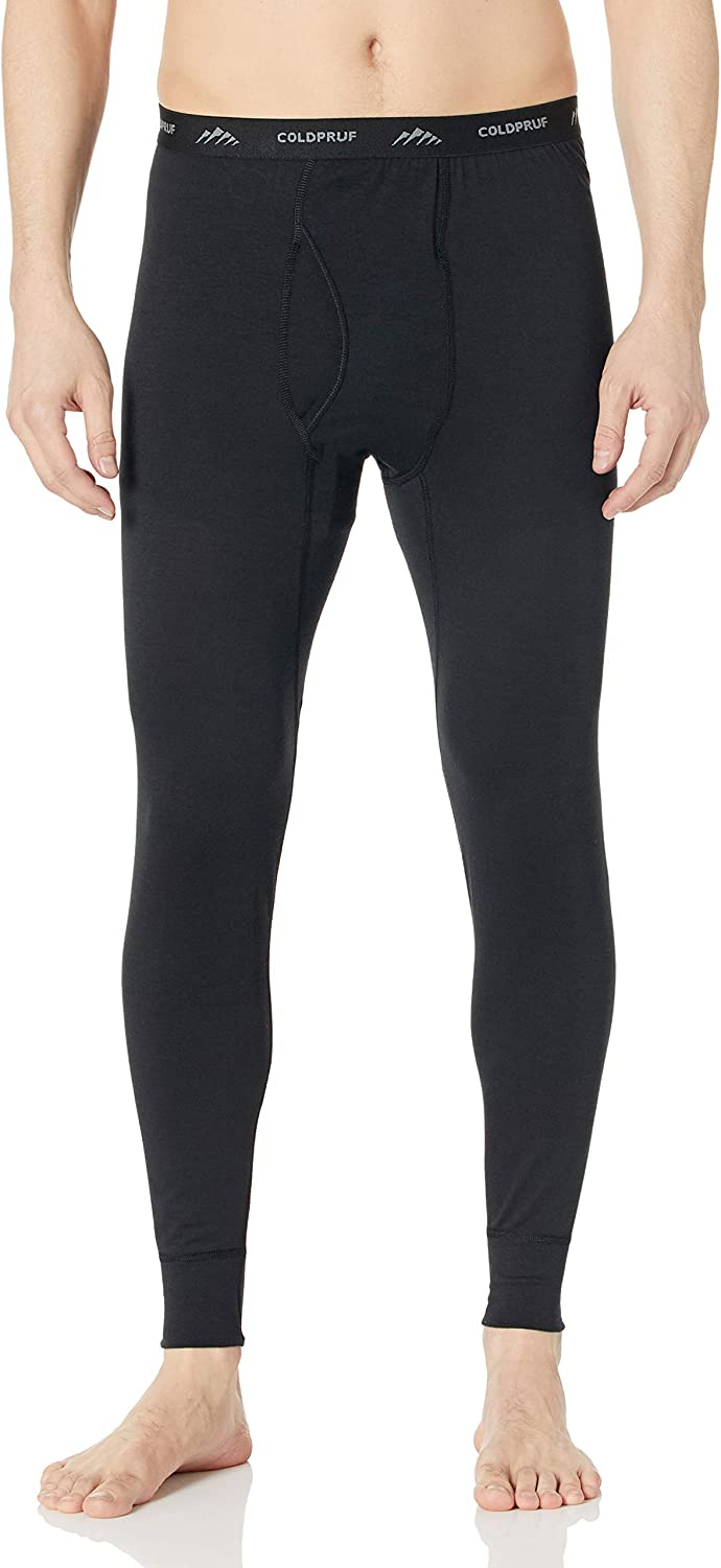 ColdPruf Men's Performance CTF Single Layer Thermal Pant, Black, X-Large