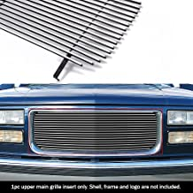 APS G85012A Polished Aluminum Billet Grille Replacement for select GMC C1500 Models