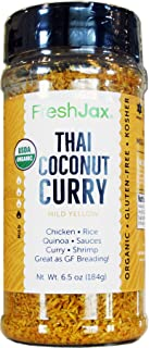 FreshJax Gourmet Thai Coconut Curry Mild (Yellow Curry, Single)