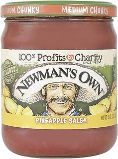 Newman'S Own Medium Pineapple Salsa, 453 g