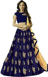 869131b671 Libra Enterprise Women`s Blackberry Velvet Semi Stitch Lehenga For  Wedding(Free Size)