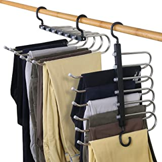 Pt01 2er Set-De Haute Qualité Pantalons Cintres en bois brun //// NEUF