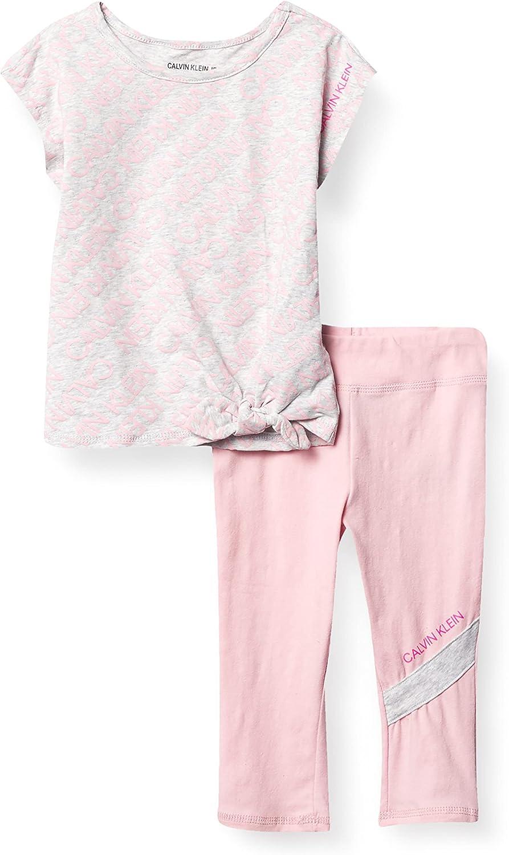 Calvin Klein girls 2 Pieces Set Pants Milwaukee Mall Tampa Mall Capri