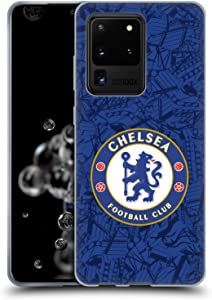 Head Case Designs Officially Licensed Chelsea Football Club Home 2019/20 Kit Soft Gel Case Compatible with Samsung Galaxy S20 Ultra 5G