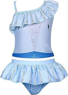 AmzBarley Moana Swimsuits Girls Two Piece Swimming Beach Pool Party Bikini Set Age 1-8 Years