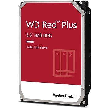 """Western Digital 8TB WD Red Plus NAS Internal Hard Drive - 5400 RPM Class, SATA 6 Gb/s, CMR, 256 MB Cache, 3.5"""" - WD80EFAX"""