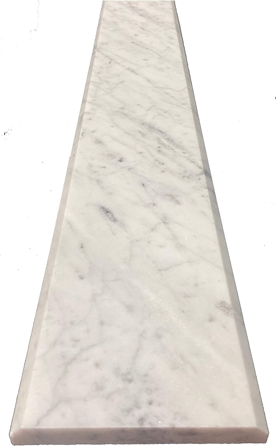 Carrara Marble Threshold Saddle - 36 70% OFF Outlet Polished 4 x Max 70% OFF