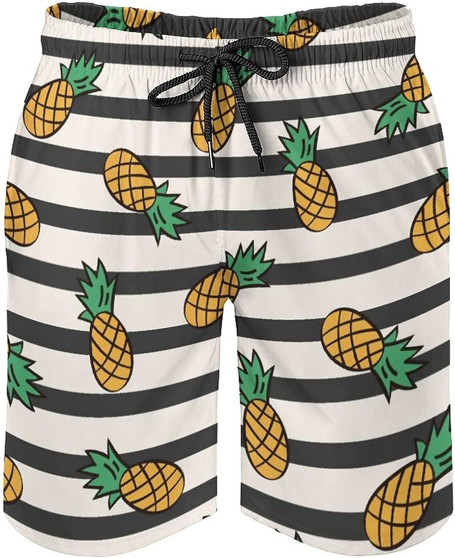 by Unbranded Men's Seaside Board ShortsPineapple Pattern