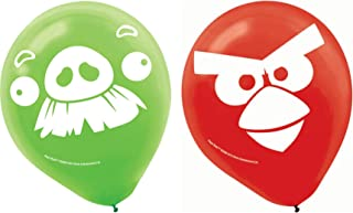 Angry Birds Printed Latex Balloons- Assorted Colors