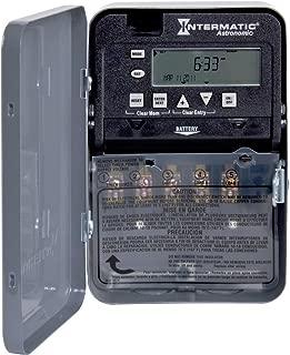 Intermatic ET8115C 7-Day 20-Amps SPDT Electronic Astronomic Time Switch, Clock Voltage 120-Volt - 277-Volt NEMA 1