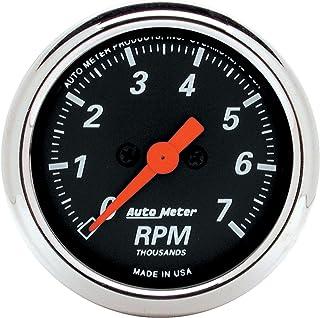 AUTO METER 1477 Designer Black Dash Electric Tachometer, 2.3125 in.