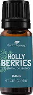 Plant Therapy Essential Oils Holly Berries Holiday Blend 100% Pure, Undiluted, Natural Aromatherapy, Therapeutic Grade 10 mL (? oz)
