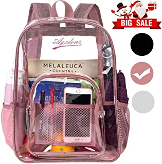 customized clear backpacks