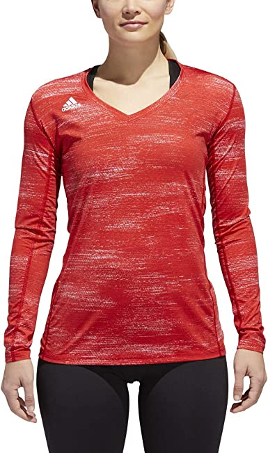 adidas Women's Volleyball Hi-Lo Long Sleeve Jersey