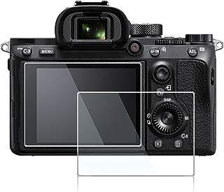 Screen Protector for Sony A7 III A7R Mark III A7RIII A7R3,debous Anti-Scratch Optical Hard Tempered Glass Protective Cover for Sony A7III ILCE-7RM3 A7R III Mark III A7R III 3 MKIII (2pack)