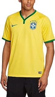 Brazil Youth Home Soccer Stadium Jersey