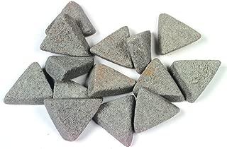 Raytech 41-310 Triangles Ceramic Media, 90 lbs/cu ft Density, 5/16