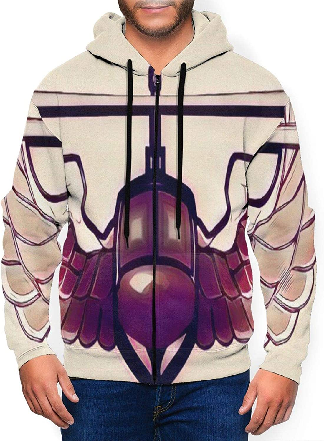 Men'S Full Zip Hoodie Proud Army Wings S Full-Zip Phoenix Mall Special price for a limited time Assault 3d Air